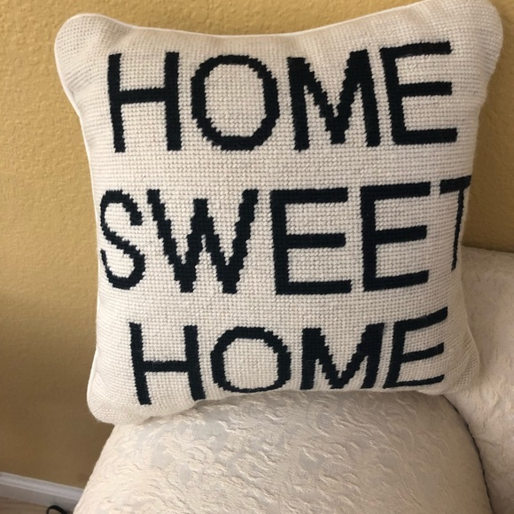 Pottery Barn Home Pillow.Pottery Barn Home Sweet Home Pillow